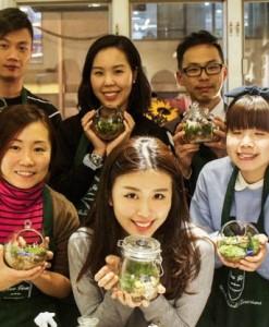 Workshops | 玻璃盆栽工作坊
